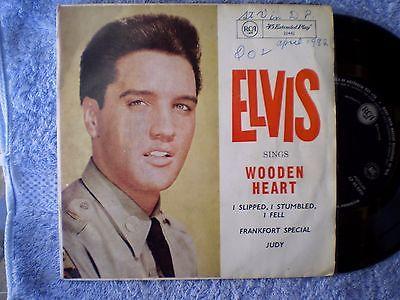 elvis-presley-wooden-heart-rare-oz-ep-45-rpm